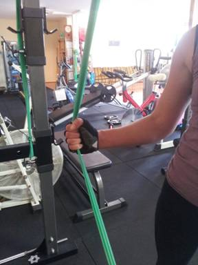 Theraband Tricep Exercise